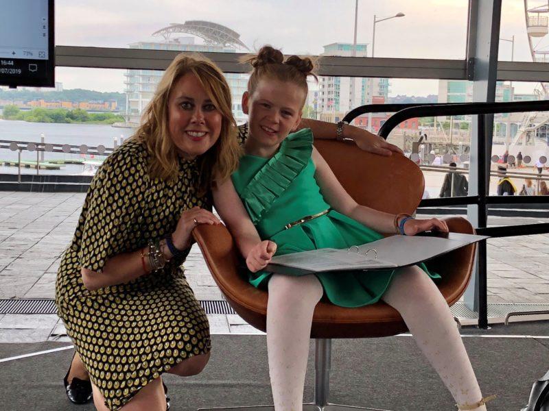 Elan at Disability Sports Wales Awards