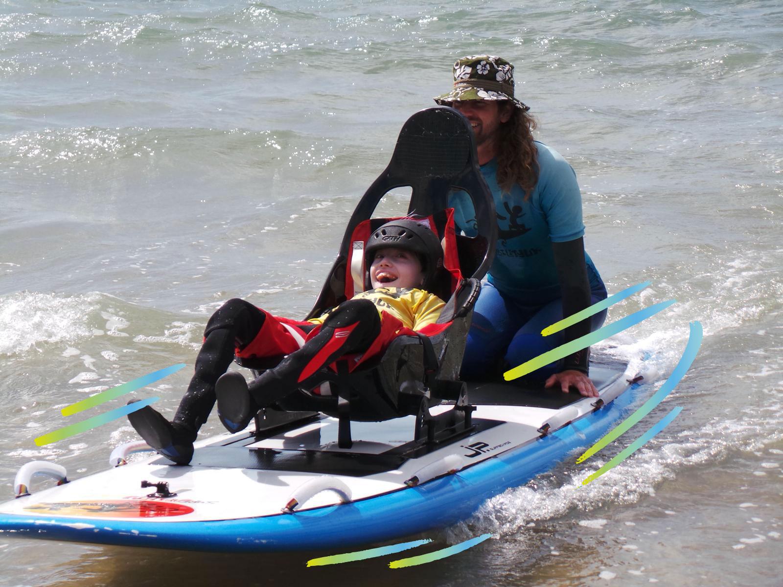 Alex Macpherson Surfing